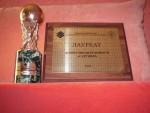Диплом и статуетка АН вошедшего в лучшую 20-ку АН Украины 2006
